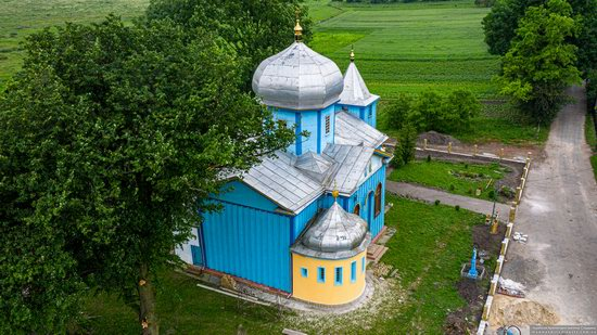 Church of the Holy Trinity in Shpykolosy, Lviv Oblast, Ukraine, photo 7