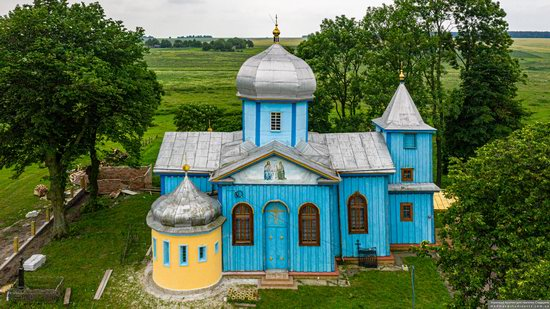 Church of the Holy Trinity in Shpykolosy, Lviv Oblast, Ukraine, photo 9