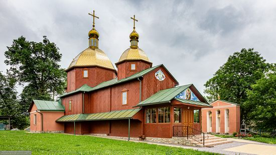 Church of St. Michael the Archangel in Pervyatychi, Lviv Oblast, Ukraine, photo 1