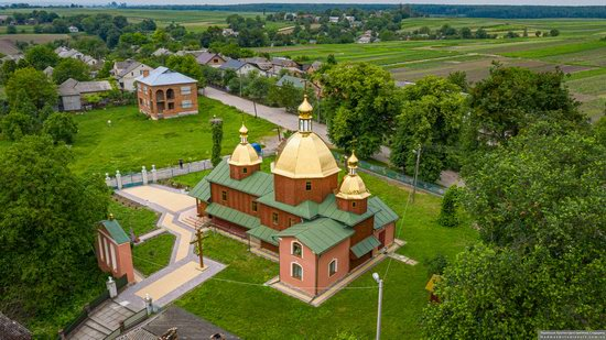 Church of St. Michael the Archangel in Pervyatychi, Lviv Oblast, Ukraine, photo 10