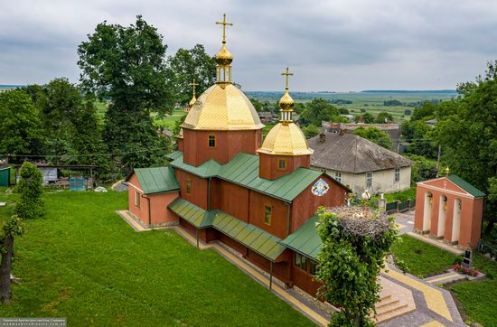 Church of St. Michael the Archangel in Pervyatychi, Lviv Oblast, Ukraine, photo 11