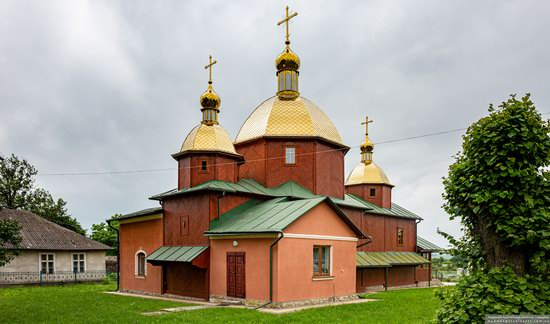 Church of St. Michael the Archangel in Pervyatychi, Lviv Oblast, Ukraine, photo 2