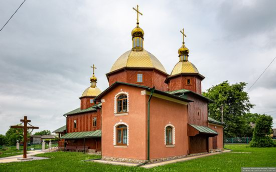Church of St. Michael the Archangel in Pervyatychi, Lviv Oblast, Ukraine, photo 3
