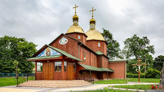 Church of St. Michael the Archangel in Pervyatychi, Lviv Oblast, Ukraine, photo 5