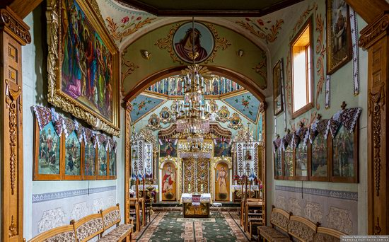 Church of St. Michael the Archangel in Pervyatychi, Lviv Oblast, Ukraine, photo 6