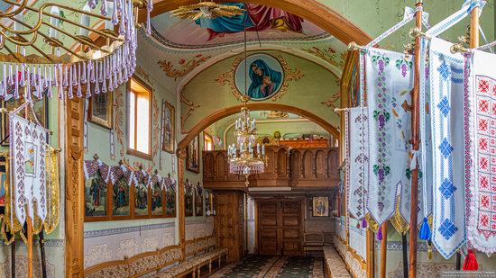 Church of St. Michael the Archangel in Pervyatychi, Lviv Oblast, Ukraine, photo 7
