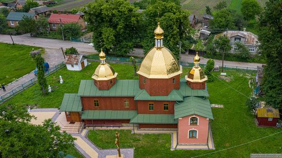 Church of St. Michael the Archangel in Pervyatychi, Lviv Oblast, Ukraine, photo 9