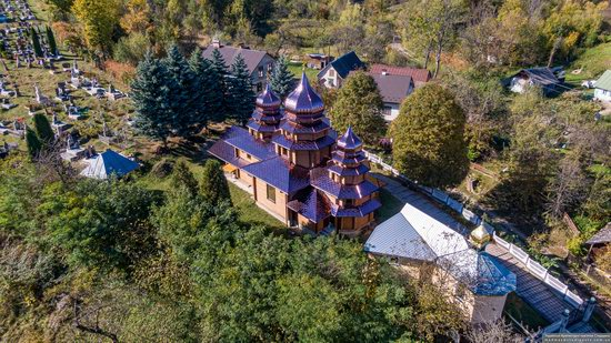 St. Josaphat Church in Bachyna, Lviv Oblast, Ukraine, photo 11