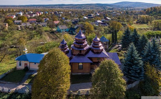 St. Josaphat Church in Bachyna, Lviv Oblast, Ukraine, photo 5