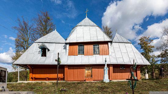 Church of the Intercession of the Virgin Mary in Libukhova, Lviv Oblast, Ukraine, photo 2