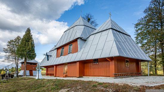 Church of the Intercession of the Virgin Mary in Libukhova, Lviv Oblast, Ukraine, photo 3