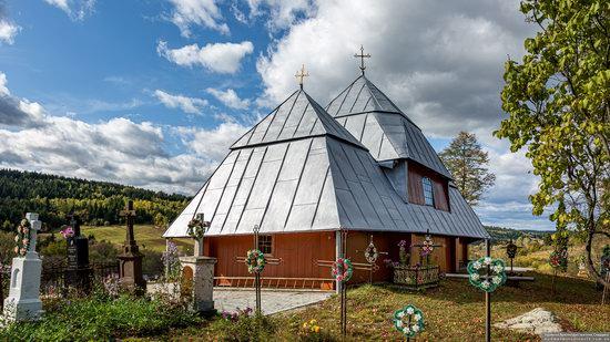 Church of the Intercession of the Virgin Mary in Libukhova, Lviv Oblast, Ukraine, photo 4