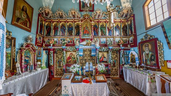 Church of the Intercession of the Virgin Mary in Libukhova, Lviv Oblast, Ukraine, photo 6