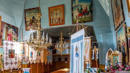 Church of the Intercession of the Virgin Mary in Libukhova, Lviv Oblast, Ukraine, photo 7