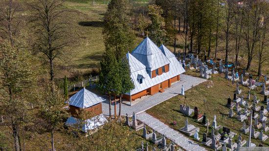Church of the Intercession of the Virgin Mary in Libukhova, Lviv Oblast, Ukraine, photo 9
