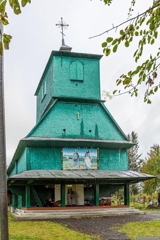 Church of the Holy Apostles Peter and Paul in Lazeshchyna, Zakarpattia Oblast, Ukraine, photo 11