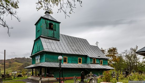 Church of the Holy Apostles Peter and Paul in Lazeshchyna, Zakarpattia Oblast, Ukraine, photo 3