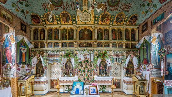 Church of the Holy Apostles Peter and Paul in Lazeshchyna, Zakarpattia Oblast, Ukraine, photo 5