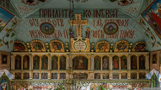 Church of the Holy Apostles Peter and Paul in Lazeshchyna, Zakarpattia Oblast, Ukraine, photo 6