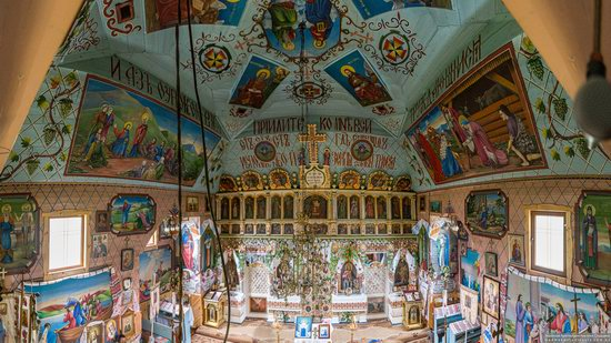 Church of the Holy Apostles Peter and Paul in Lazeshchyna, Zakarpattia Oblast, Ukraine, photo 7