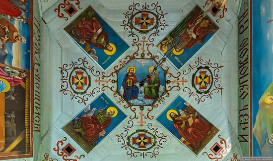 Church of the Holy Apostles Peter and Paul in Lazeshchyna, Zakarpattia Oblast, Ukraine, photo 8