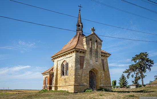 Roman Catholic Church-Chapel in Antoniv, Ternopil Oblast, Ukraine, photo 1