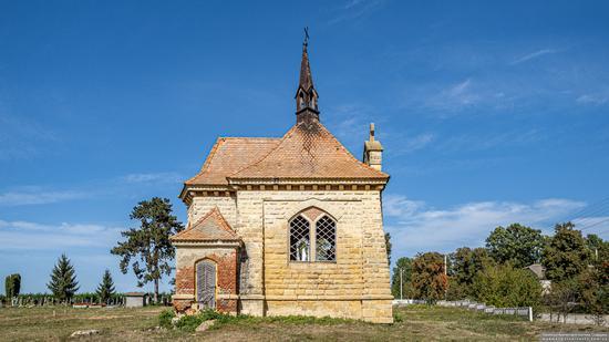 Roman Catholic Church-Chapel in Antoniv, Ternopil Oblast, Ukraine, photo 2
