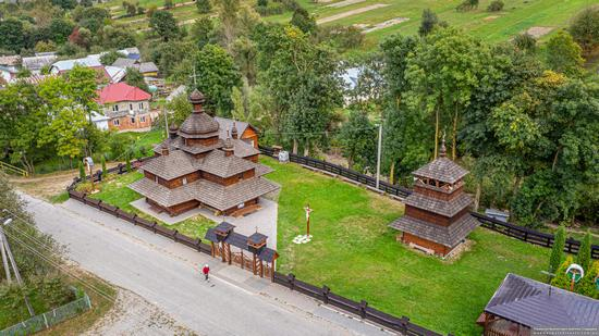 Church of the Assumption of the Virgin in Hvizd, Ivano-Frankivsk Oblast, Ukraine, photo 10