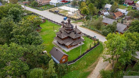 Church of the Assumption of the Virgin in Hvizd, Ivano-Frankivsk Oblast, Ukraine, photo 12