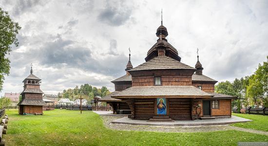 Church of the Assumption of the Virgin in Hvizd, Ivano-Frankivsk Oblast, Ukraine, photo 6