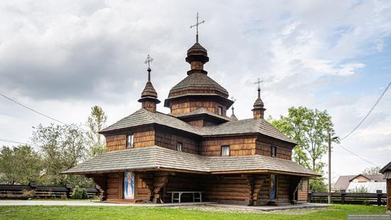 Church of the Assumption of the Virgin in Hvizd, Ivano-Frankivsk Oblast, Ukraine, photo 7