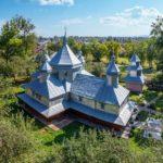Picturesque Tinned Church in Horishnje Zaluchchya