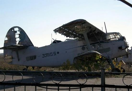 Aircraft Cemetery, Poltava, Ukraine, photo 1