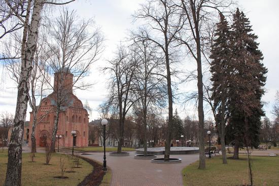 Mid April in the center of Chernihiv, Ukraine, photo 7