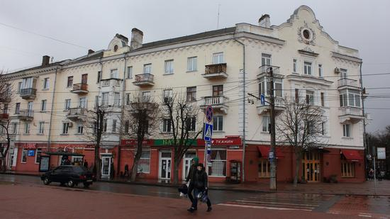 Mid April in the center of Chernihiv, Ukraine, photo 9