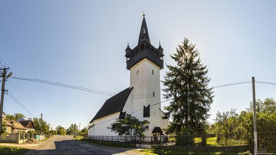 Defensive Catholic Church of the Heart of Jesus in Bene, Zakarpattia Oblast, Ukraine, photo 12