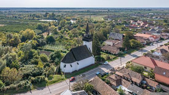 Defensive Catholic Church of the Heart of Jesus in Bene, Zakarpattia Oblast, Ukraine, photo 7