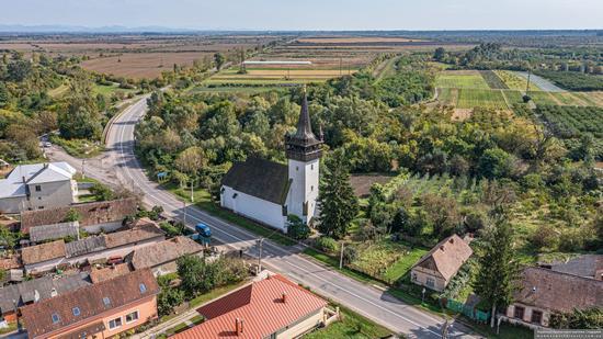 Defensive Catholic Church of the Heart of Jesus in Bene, Zakarpattia Oblast, Ukraine, photo 8