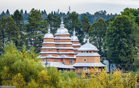 Church of the Holy Virgin in Matkiv, Lviv Oblast, Ukraine, photo 1