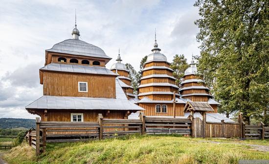 Church of the Holy Virgin in Matkiv, Lviv Oblast, Ukraine, photo 2