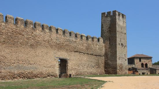 Bilhorod-Dnistrovskyi Fortress - the largest fortress in Ukraine, photo 9