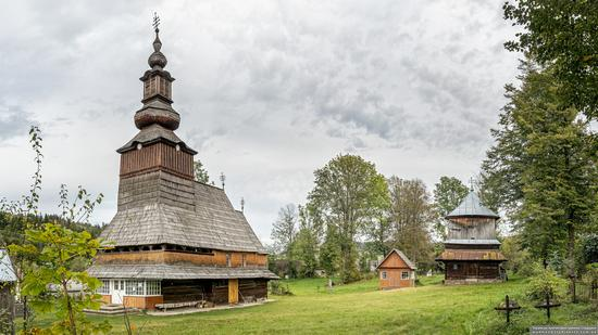 Church of the Nativity of the Blessed Virgin in Pylypets, Ukraine, photo 1