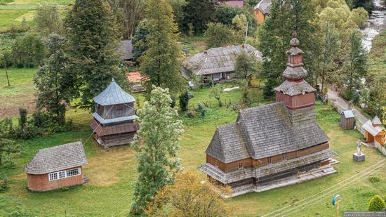 Church of the Nativity of the Blessed Virgin in Pylypets, Ukraine, photo 10