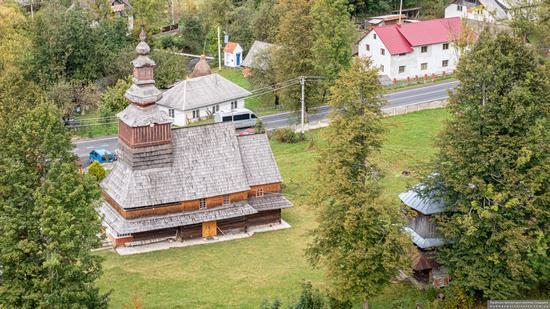 Church of the Nativity of the Blessed Virgin in Pylypets, Ukraine, photo 11
