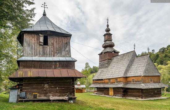 Church of the Nativity of the Blessed Virgin in Pylypets, Ukraine, photo 4