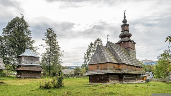 Church of the Nativity of the Blessed Virgin in Pylypets, Ukraine, photo 6