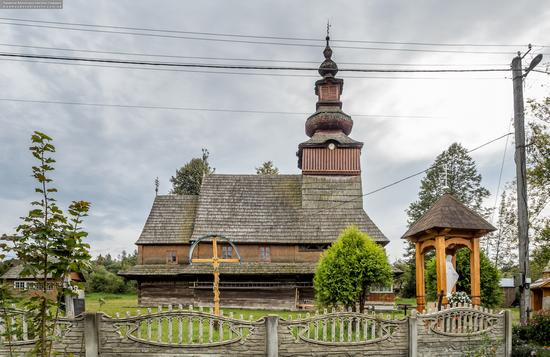 Church of the Nativity of the Blessed Virgin in Pylypets, Ukraine, photo 8