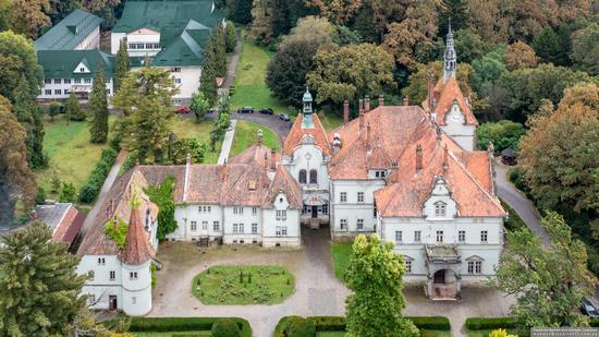 Palace of Counts Schonborn in Zakarpattia Oblast, Ukraine, photo 1