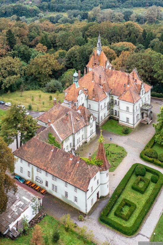 Palace of Counts Schonborn in Zakarpattia Oblast, Ukraine, photo 2
