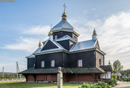 Church of the Exaltation of the Holy Cross in Mykytyntsi, Ivano-Frankivsk Oblast, Ukraine, photo 1
